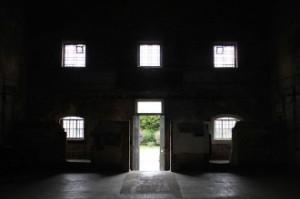 asylum door